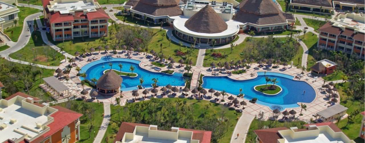 All Inclusive Resorts Bahia Principe Resorts Pool Main Aerial