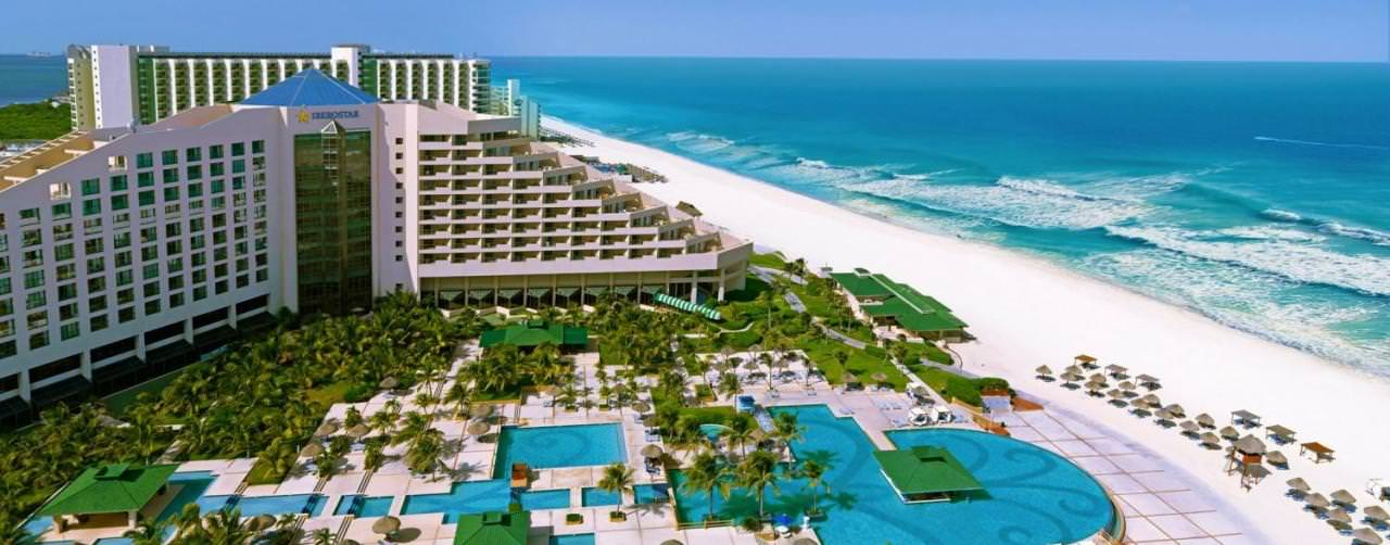 All Inclusive Resorts Iberostar Hotels Amenities Aerial Pool View Courtyard Beach