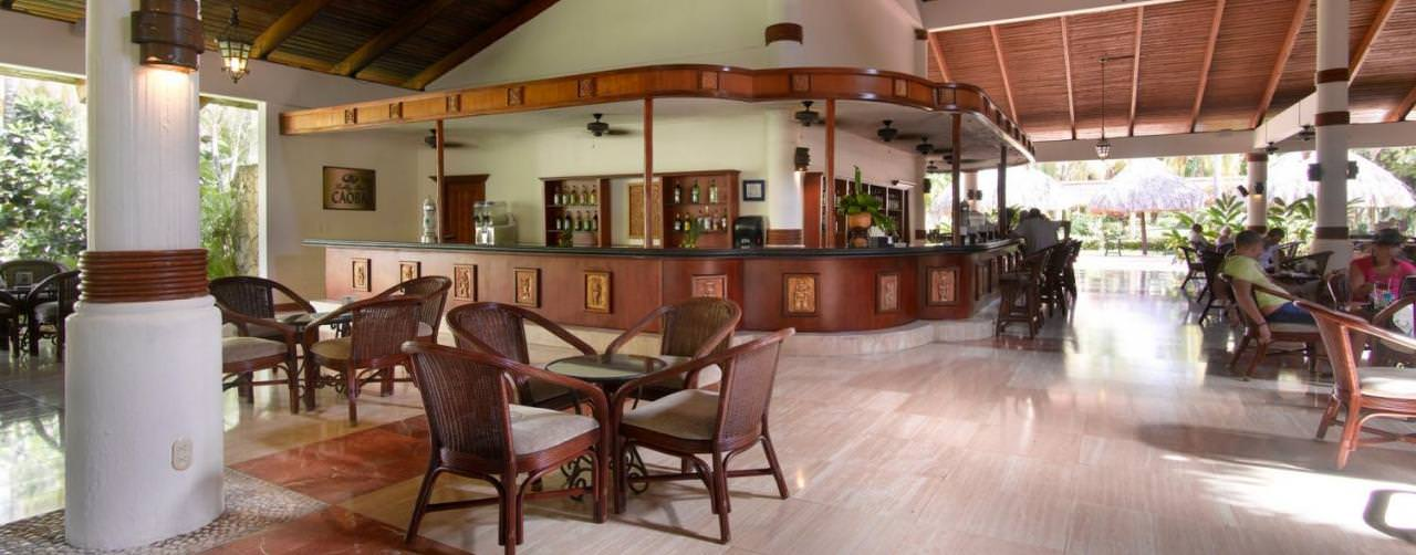 Bar Lobby Grand Palladium Bavaro Resort Spa Punta Cana Dominican Republic