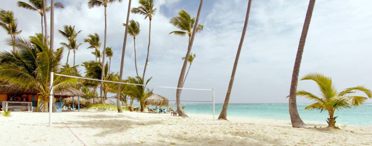 Beach Volley Ball Activities Royal Suites Turquesa By Palladium Punta Cana Dominican Republic