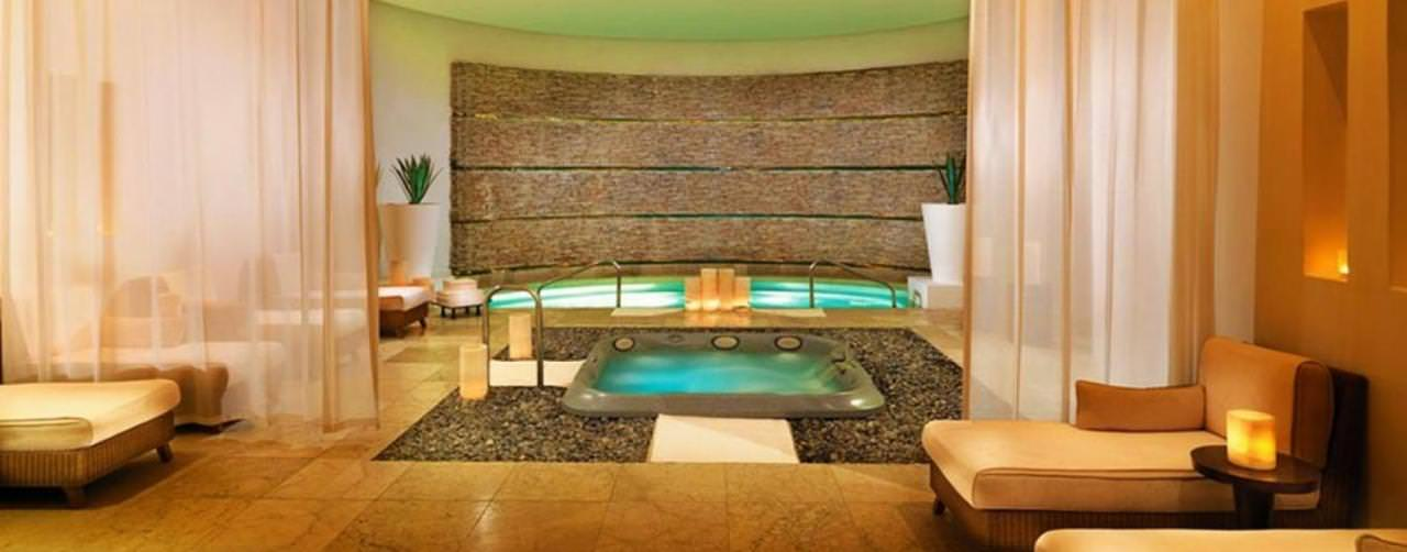 Cancun Mexico Spa Plunge Pool Hydro Therapy Le Blanc Spa Resort
