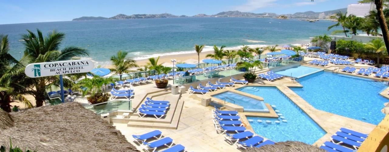Copacabana Acapulco Mexico Vacation Travel