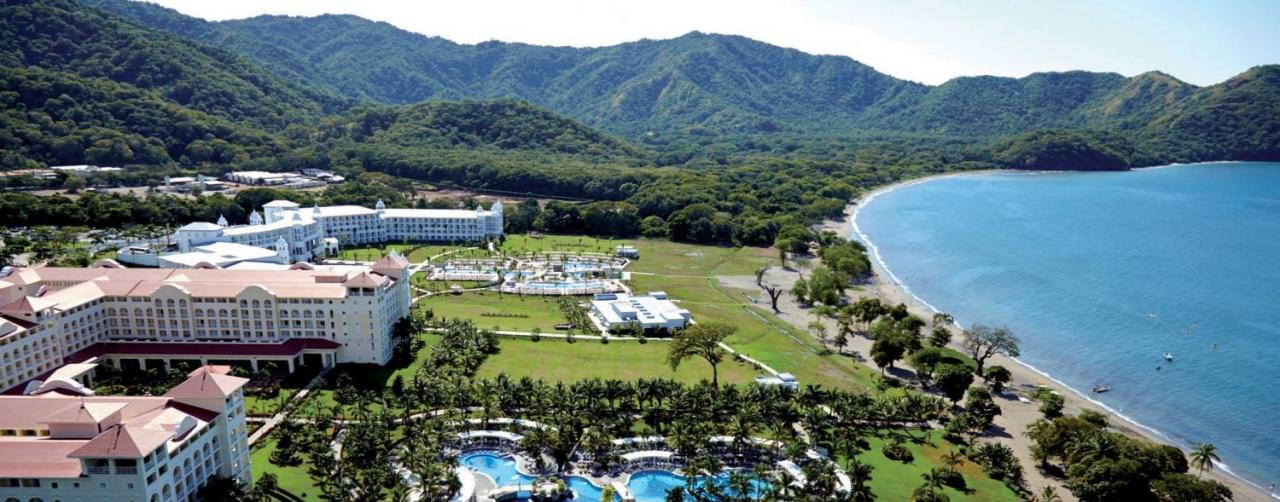 Costa Rica Beach Aerial Resort View Pool Mountain View Riu Guanacaste