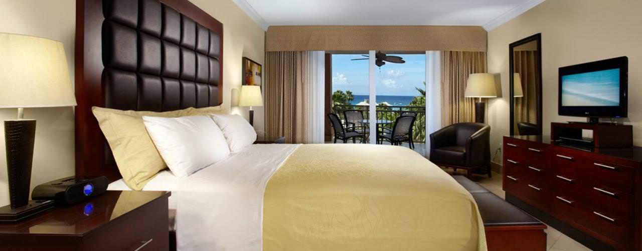 Divi Aruba All Inclusive Aruba Caribbean Room King Size Bed Ocean View