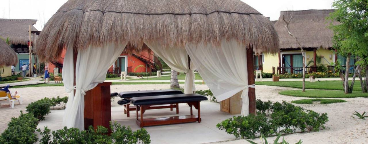 Iberostar Cozumel Cozumel Mexico Spa Out Door Couples Massage