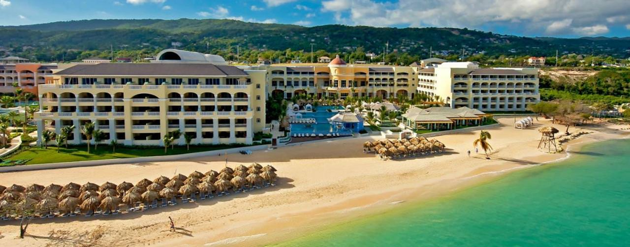 Iberostar Grand Hotel Rose Hall Montego Bay Jamaica Beach Aerial View From Sea