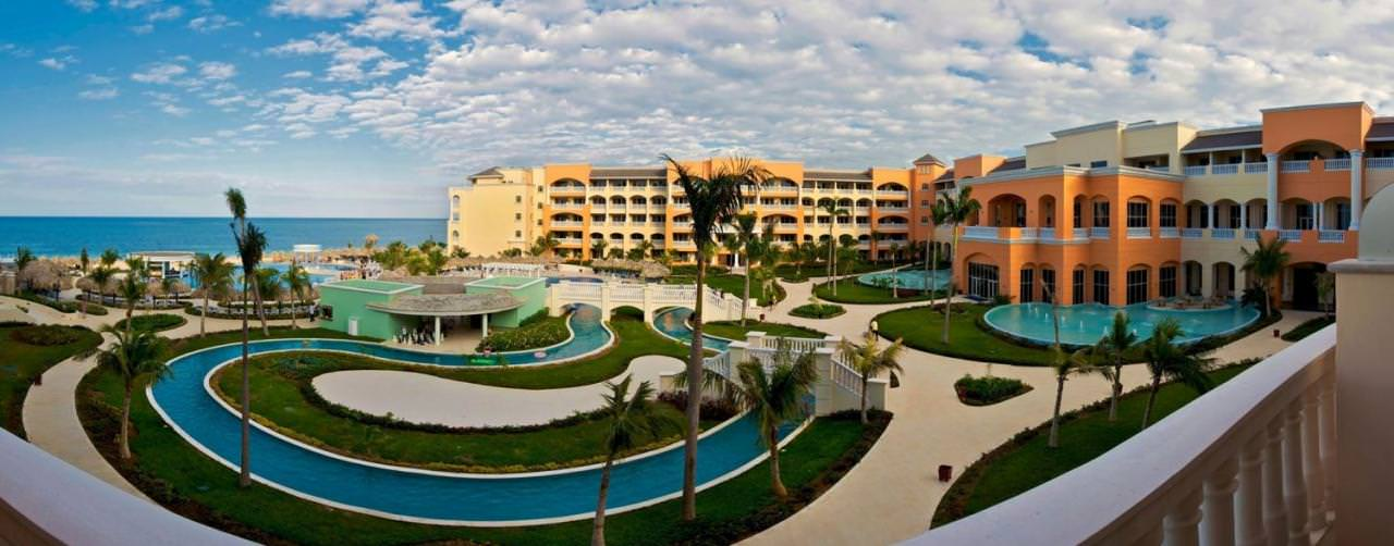 Iberostar Rose Hall Suites Montego Bay Jamaica Pool Lazy Rive Couryard Panorama View