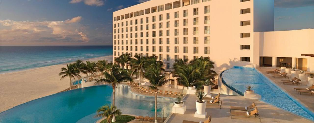 Le Blanc Spa Resort Cancun Mexico Amenities Pool Beach Palm Hotel Exterior