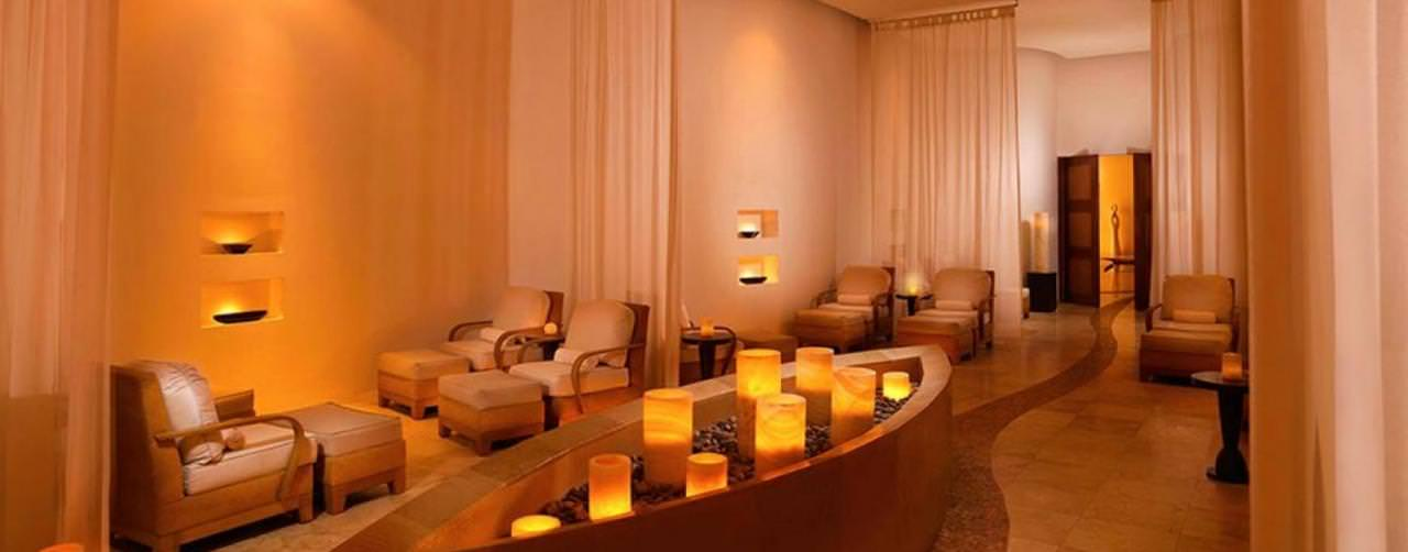 Le Blanc Spa Resort Cancun Mexico Spa Waiting Relaxation Room