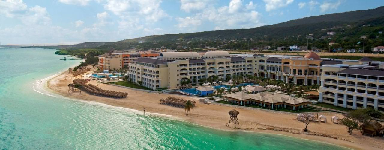 Montego Bay Jamaica Beach Aerial Beach View Iberostar Grand Hotel Rose Hall