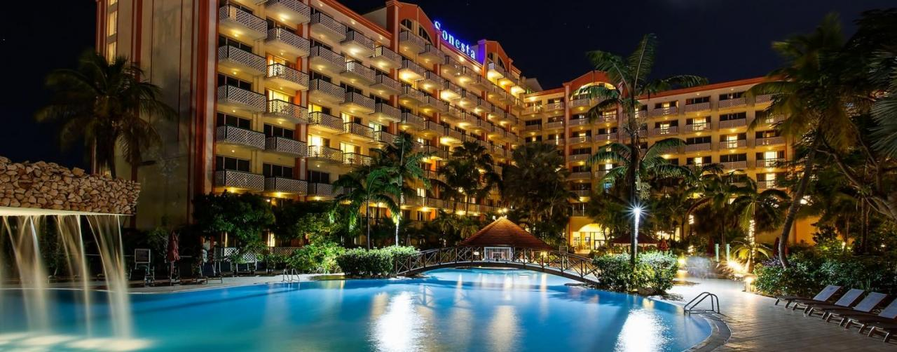 Night_sky_tower_s Sonesta Maho Beach Resort Casino St Martin Caribbean