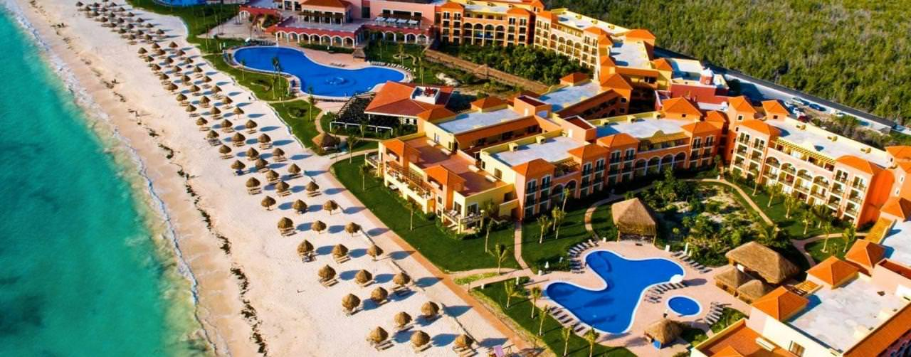 Ocean Coral Turquesa By H10 Riviera Maya Mexico Amenities Aerial Resort Complex Pool Beach View