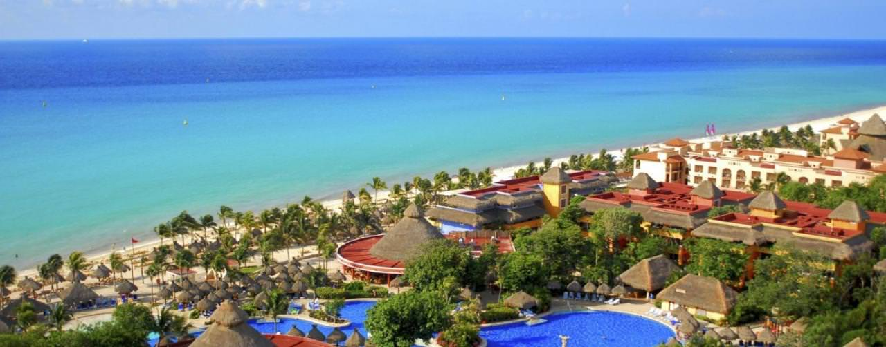 Playa Del Carmen Riviera Maya Amenities Aerial View Pool Courtyard Beach Iberostar Tucan
