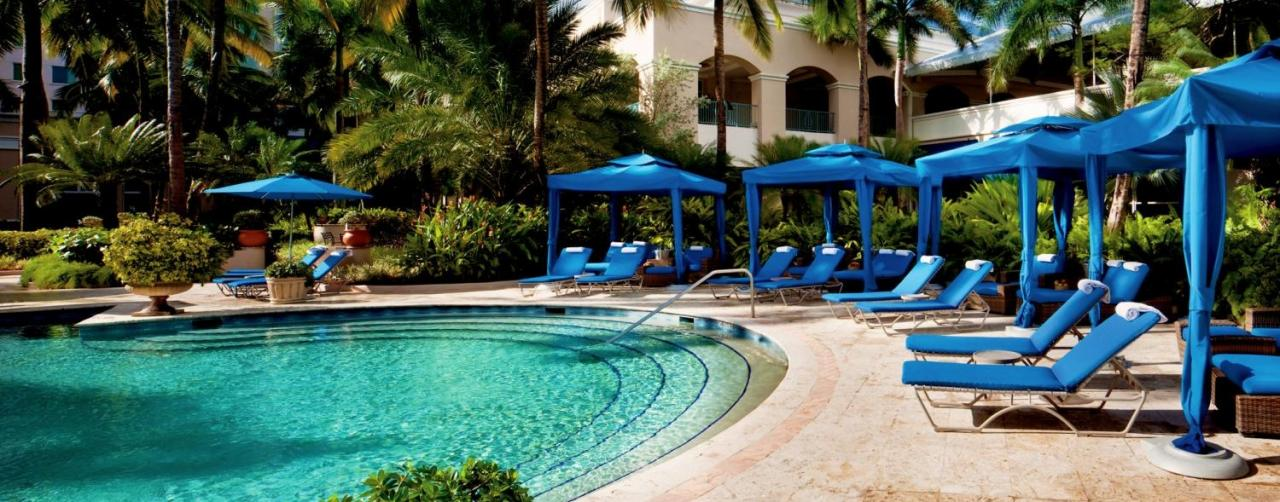 The Ritz-Carlton, San Juan is miles ( kilometers) from Museo de Arte de Puerto Rico and within miles (9 kilometers) of Plaza Las Américas shopping and a casino. An on-site spa offers hydrotherapy treatments, massages, and hair/nail care and has sauna, spa tub and steam rooms.
