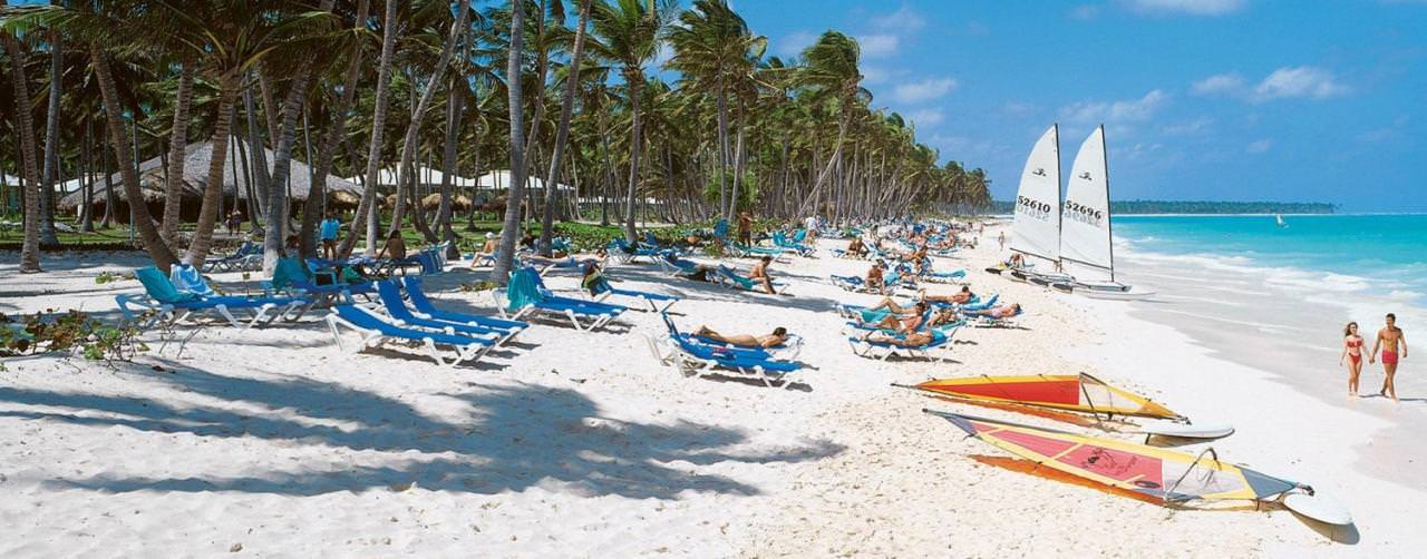 Punta Cana Dominican Republic Grand Palladium Bavaro Resort Spa Beach