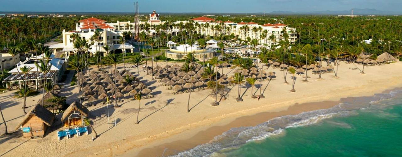 Punta Cana Dominican Republic Iberostar Grand Hotel Bavaro Beach View From Sea