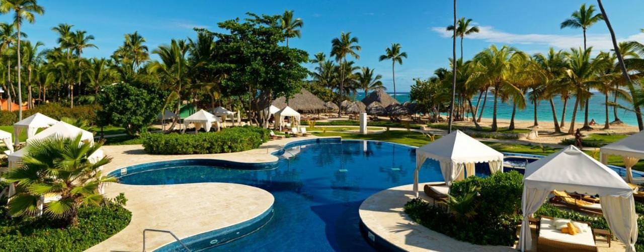 Punta Cana Dominican Republic Pool Beach View Iberostar Grand Hotel Bavaro