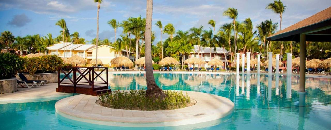 Punta Cana Dominican Republic Pool Island Bridge Walk Way Royal Suites Turquesa By Palladium