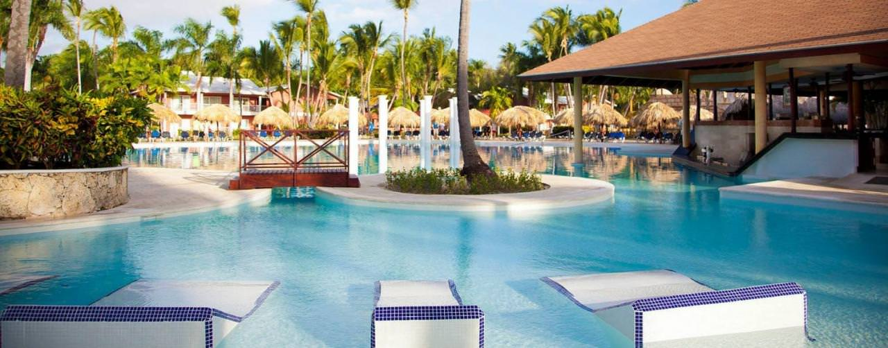 Punta Cana Dominican Republic Pool Lounge Chairs Grand Palladium Punta Cana Resort Spa