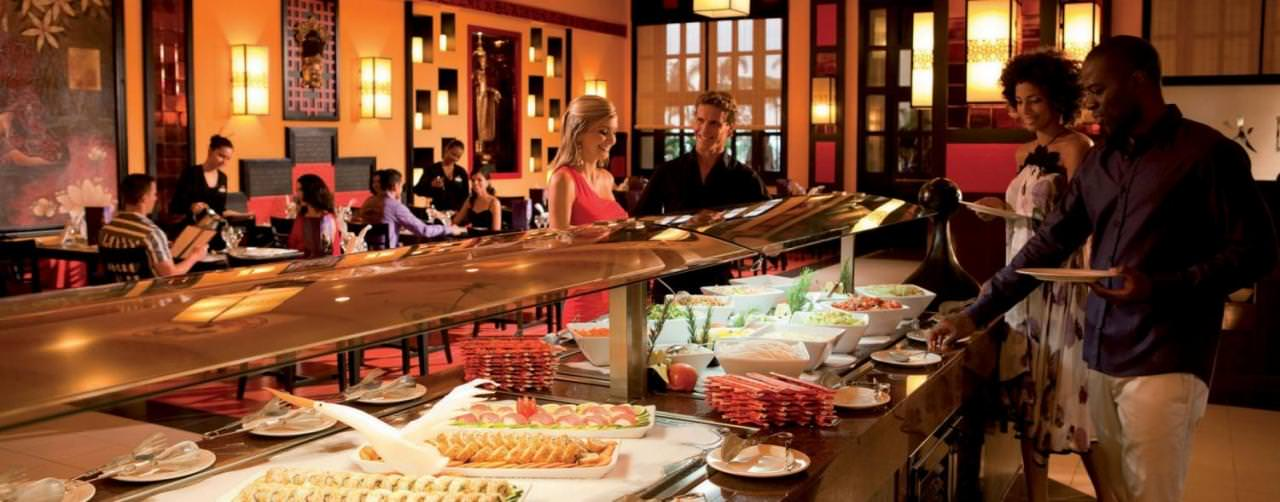 Restaurant Asian Buffet Sushi Riu Guanacaste Costa Rica