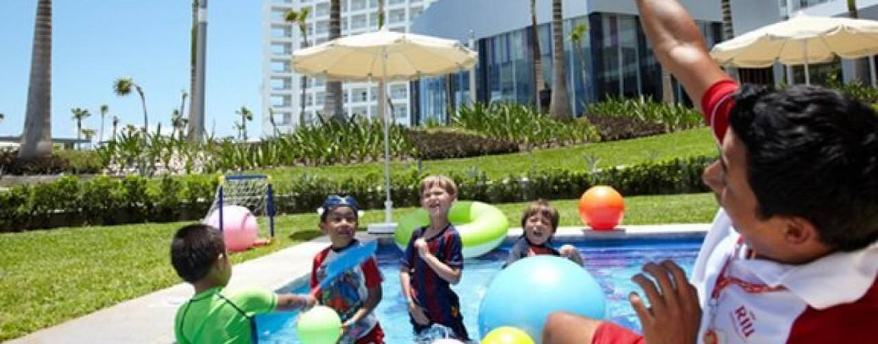Riu Palace Peninsula Cancun Mexico Kids Club Activities Pool