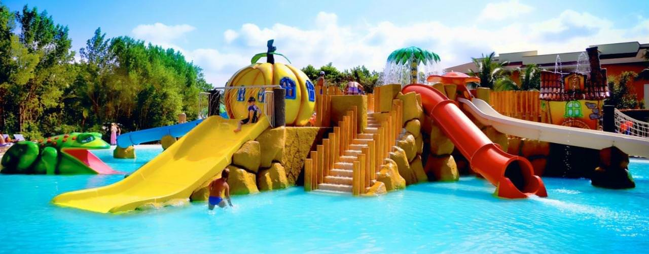 Riviera Maya Mexico Grand Bahia Principe Coba Pool Kids Playground