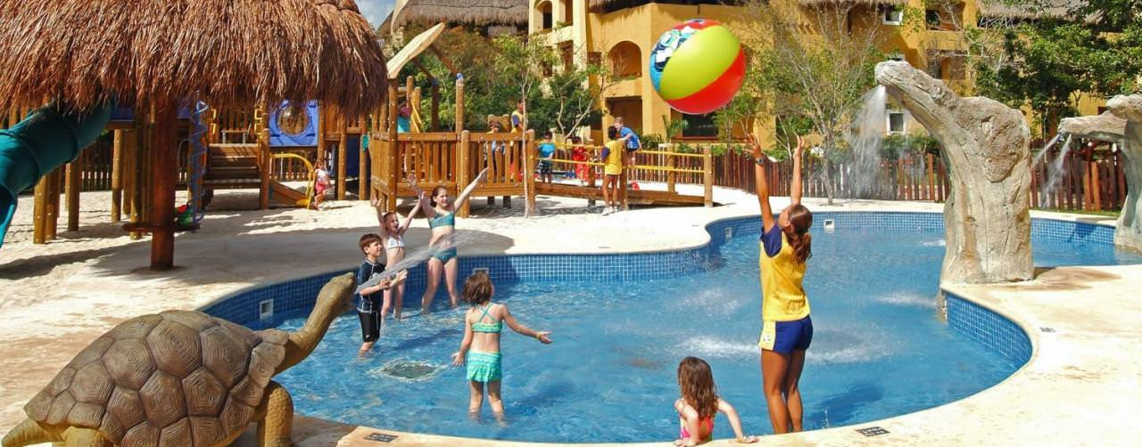 Riviera Maya Mexico Iberostar Paraiso Lindo Pool Kids Play Ground Activities
