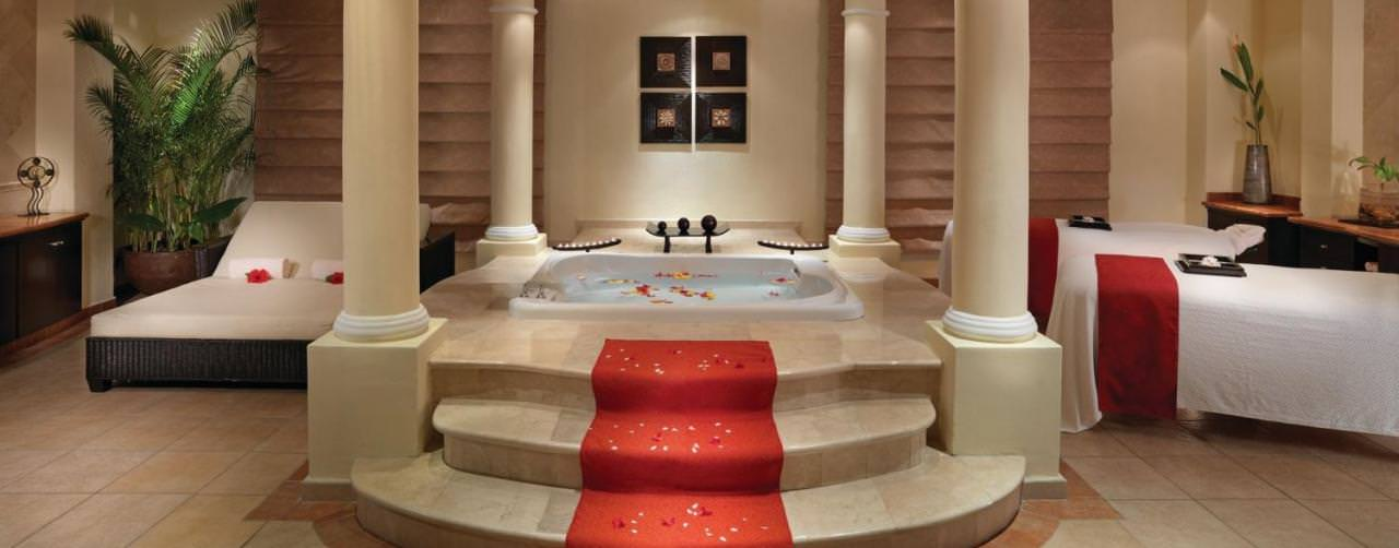 Riviera Maya Mexico Moon Palace Golf Spa Resort Spa Gold Suite Couples Massage Jacuzzi