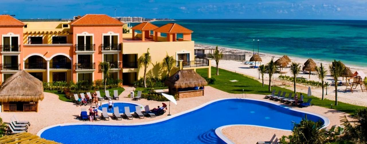 Riviera Maya Mexico Pool Beach Courtyard Property View Ocean Coral Turquesa By H10