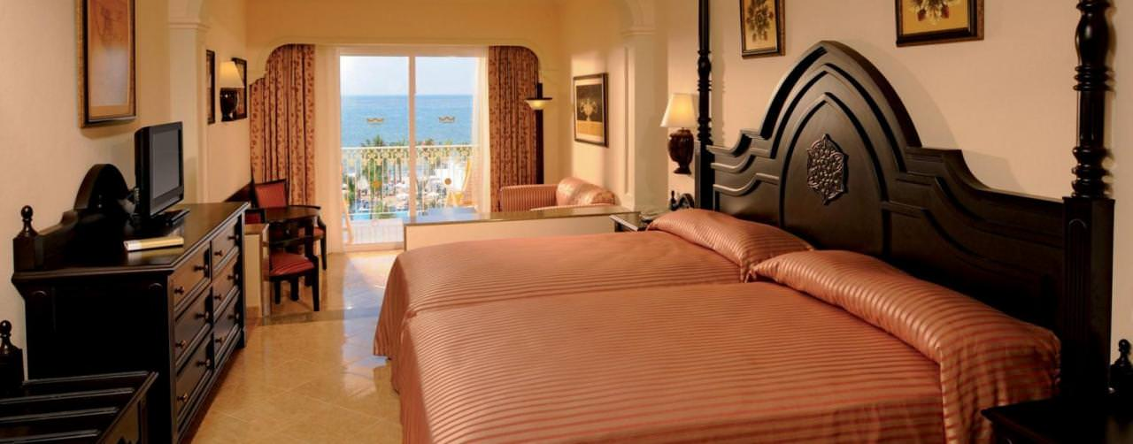 Riviera Nayarit Puerto Vallarta Riu Palace Pacifico Room Double Bed Balcony Ocean View