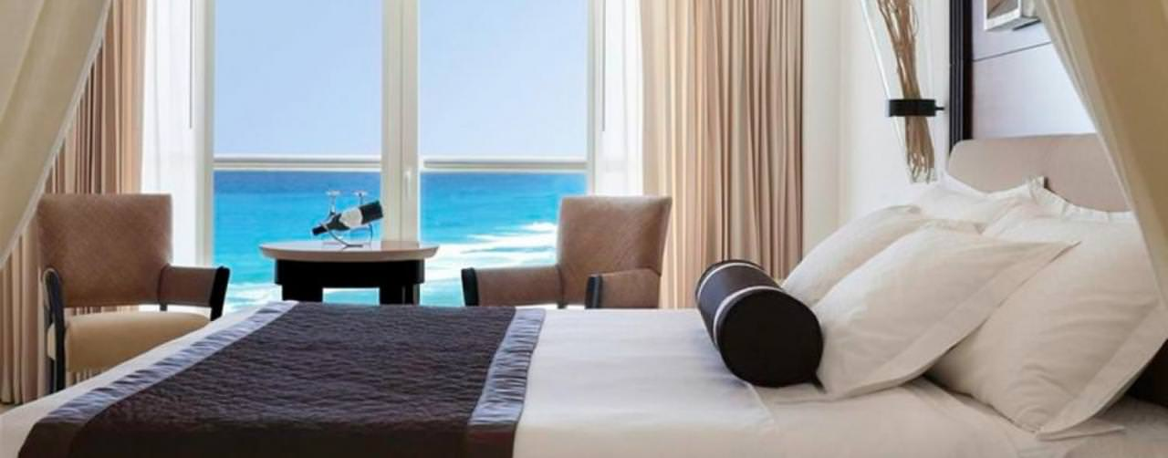 Room Royale Deluxe King Size Bed Ocean View Le Blanc Spa Resort Cancun Mexico