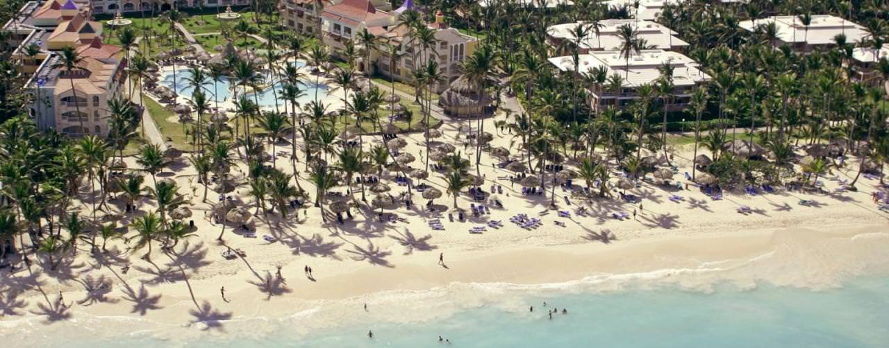Royal Suites Turquesa By Palladium Punta Cana Dominican Republic Beach Aerial View Palm Trees