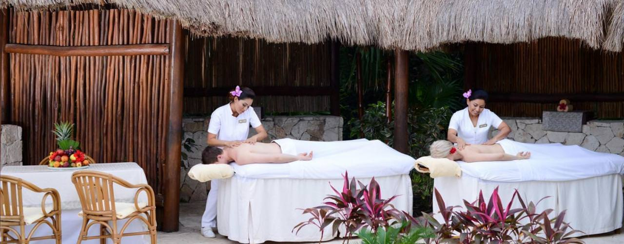 Valentin Imperial Maya Riviera Maya Mexico Spa Couples Massage On Beach