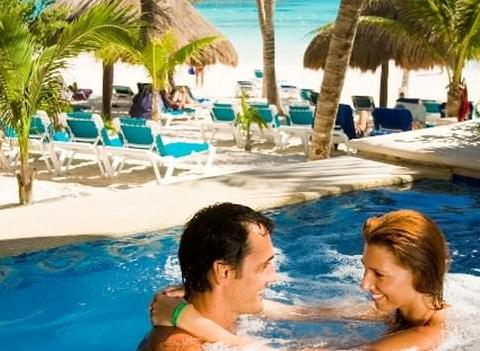 Catalonia Royal Tulum Beach Spa Resort Pool 3