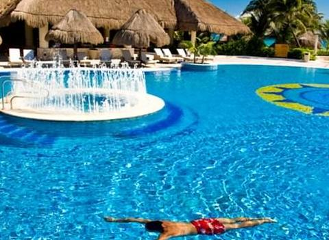 Catalonia Royal Tulum Beach Spa Resort Pool 4