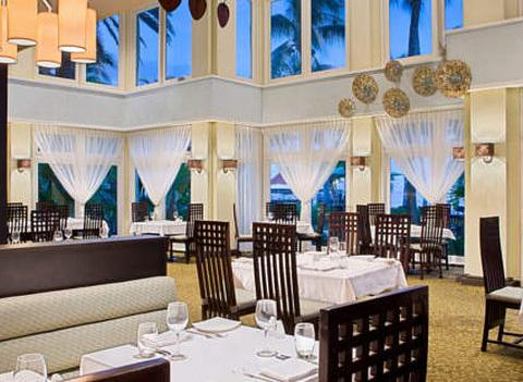 Curacao Marriott Resort Emerald Casino Restaurant