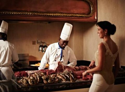 Fresh Seafood And Steak At Iberostar Grand Bavaro Restaurant
