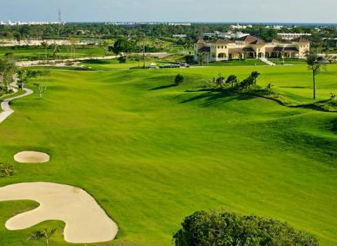 Golf Course At Grand Bavaro
