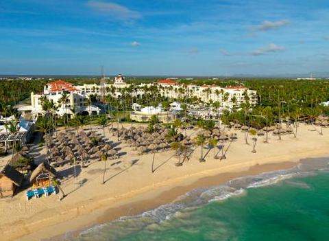 Iberostar Grand Hotel Bavaro Aerial View Of Beach