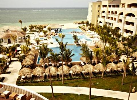 Iberostar Grand Rose Hall Aerial Resort View