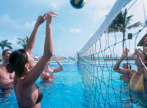 Riu Caribe Activities Pool Volleyball