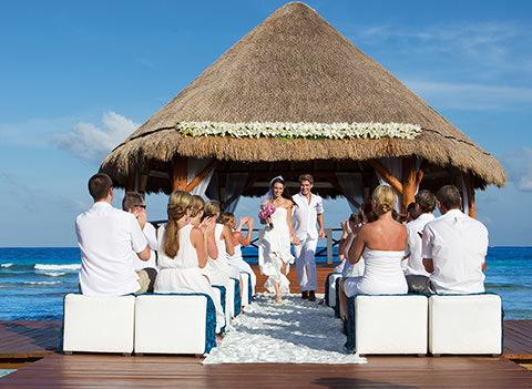 Secrets Silversands Riviera Cancun Wedding 1