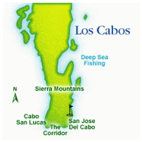 Los Cabos Map