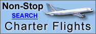 Non-Stop Charter Flights