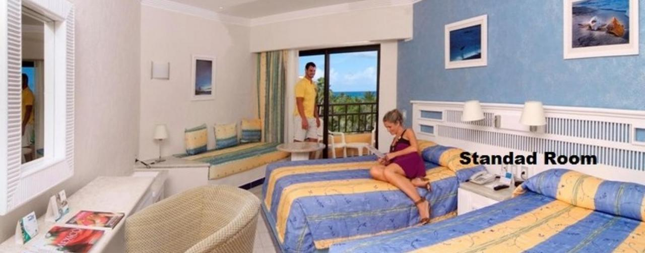 8 Sandos Playacar Room Beach Standard 03 P Resort Spa Playa Del Carmen Riviera Maya