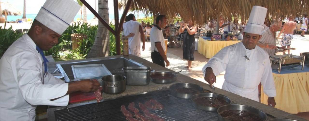 Bbq Iberostar Bavaro All Suite Resort Punta Cana Dominican Republic