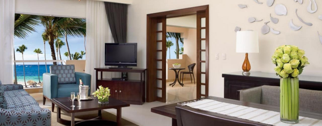 Drepb_master_suite_living_1 Dreams Palm Beach Punta Cana Punta Cana Dominican Republic