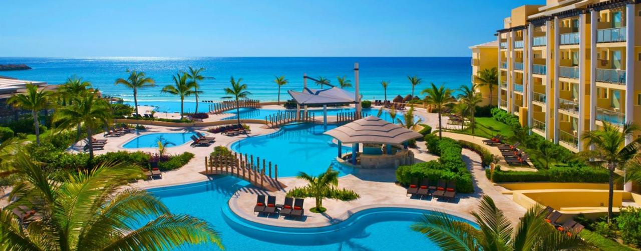 All Inclusive Resorts Now Resorts Spas Pool Aerial