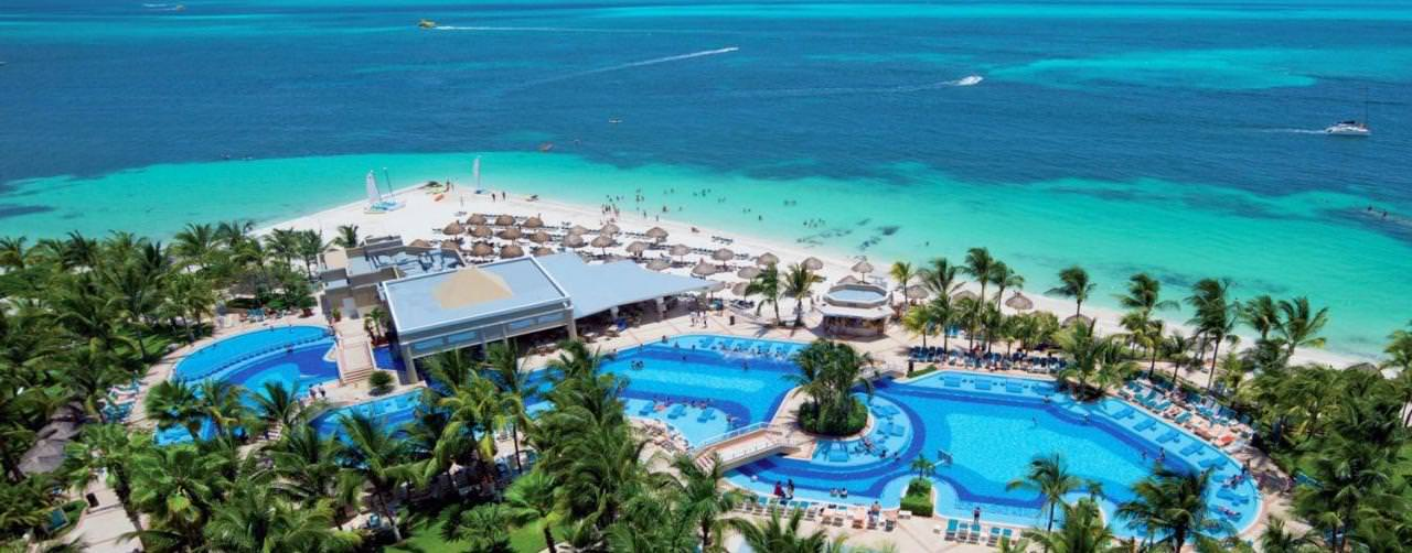 All Inclusive Resorts Riu Hotels Pool Aerial View Ocean
