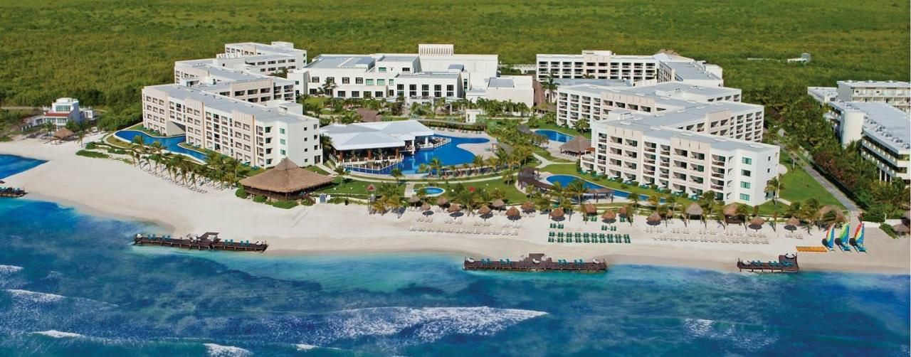 All Inclusive Resorts Secrets Resorts And Spas Amenities Hotel Exterior Aerial